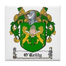 O'Reilly Family Crest Tile Coaster
