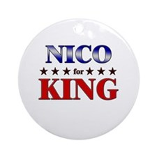 NICO for king Ornament (Round)