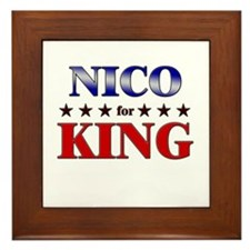 NICO for king Framed Tile
