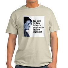 """Chekhov """"Trust"""" T-Shirt"""