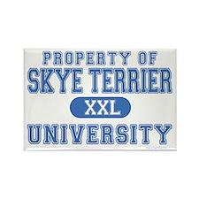 Skye Terrier U. Rectangle Magnet (100 pack)