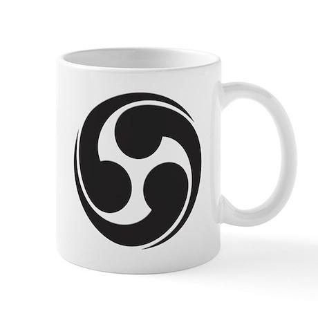 Shinto Tomoe Symbol Mug
