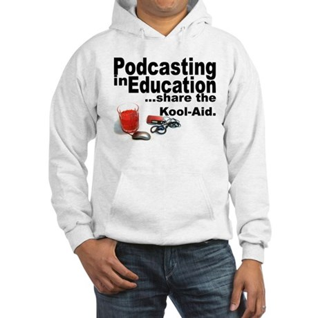Podcasting in Education Hooded Sweatshirt