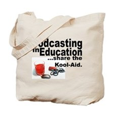 Podcasting in Education Tote Bag