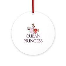 Cuban Princess Ornament (Round)
