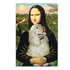 Mona Lisa /Cocker Spaniel Postcards (Package of 8)