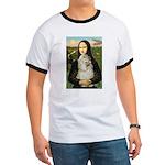 Mona Lisa /Cocker Spaniel Ringer T