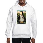 Mona Lisa /Cocker Spaniel Hooded Sweatshirt