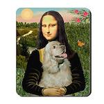 Mona Lisa /Cocker Spaniel Mousepad