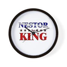 NESTOR for king Wall Clock
