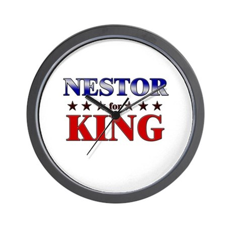 NESTOR for king Wall Clock