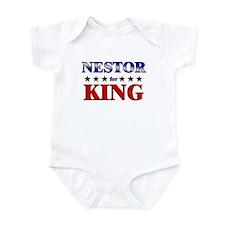 NESTOR for king Infant Bodysuit