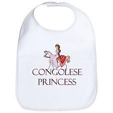 Congolese Princess Bib