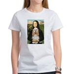 Mona Lisa / Cocker Spaniel Women's T-Shirt