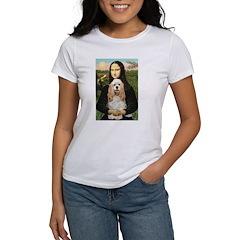 Mona Lisa / Cocker Spaniel Women's T-Shirt
