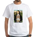 Mona Lisa / Cocker Spaniel White T-Shirt