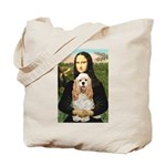 Mona Lisa / Cocker Spaniel Tote Bag