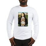 Mona Lisa / Cocker Spaniel Long Sleeve T-Shirt