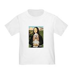 Mona Lisa / Cocker Spaniel Toddler T-Shirt