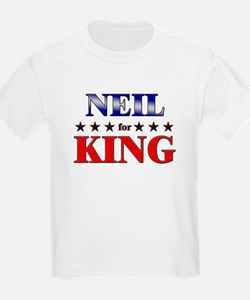 NEIL for king T-Shirt