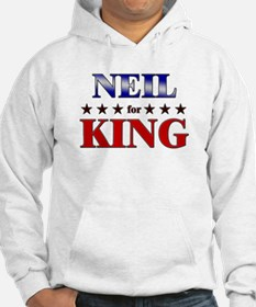 NEIL for king Hoodie