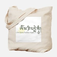 Mantra: Om Mani Padme Hum Tote Bag