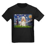 Spring /Cocker Spaniel (buff) Kids Dark T-Shirt