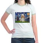 Spring /Cocker Spaniel (buff) Jr. Ringer T-Shirt