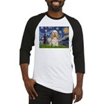 Spring /Cocker Spaniel (buff) Baseball Jersey