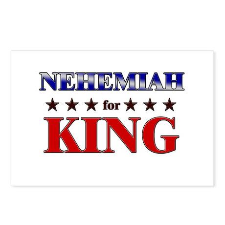 NEHEMIAH for king Postcards (Package of 8)