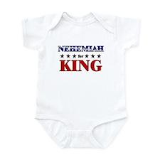 NEHEMIAH for king Onesie