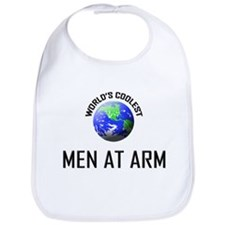 World's Coolest MEN AT ARM Bib