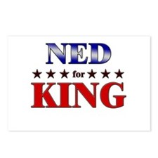 NED for king Postcards (Package of 8)