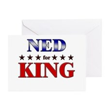 NED for king Greeting Cards (Pk of 10)