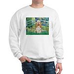 Bridge / Cocker Spaniel (buff) Sweatshirt