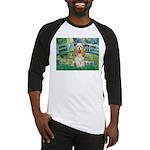 Bridge / Cocker Spaniel (buff) Baseball Jersey