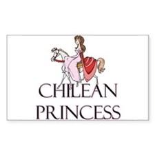 Chilean Princess Rectangle Decal