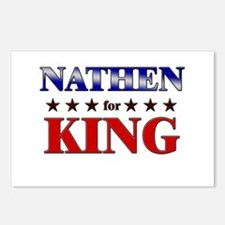 NATHEN for king Postcards (Package of 8)