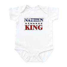 NATHEN for king Infant Bodysuit