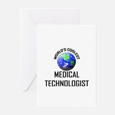 World's Coolest MEDICAL TECHNOLOGIST Greeting Card