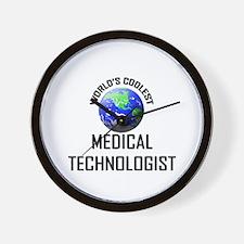 World's Coolest MEDICAL TECHNOLOGIST Wall Clock