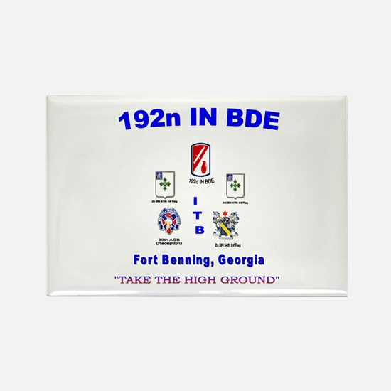 Funny 192nd inf bde Rectangle Magnet
