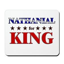 NATHANIAL for king Mousepad