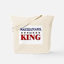 NATHANAEL for king Tote Bag