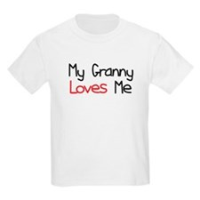 My Granny Loves Me T-Shirt