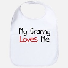 My Granny Loves Me Baby Bib