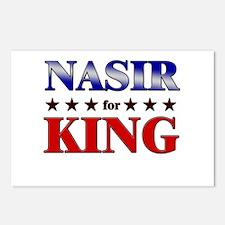 NASIR for king Postcards (Package of 8)