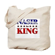 NASIR for king Tote Bag