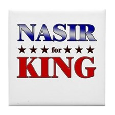NASIR for king Tile Coaster