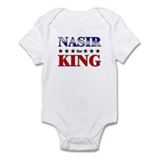 NASIR for king Infant Bodysuit